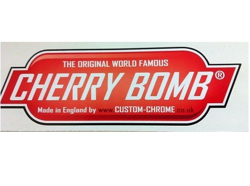 Cherry bomb DECAL